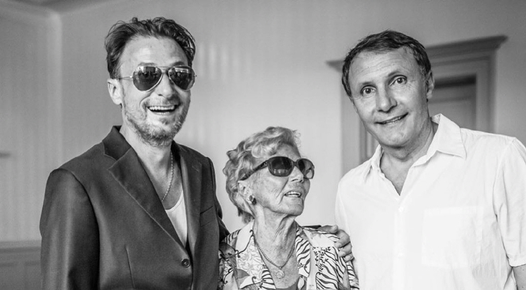William, Elisabeta, Diego Zabeni - 50 Jahr Feier